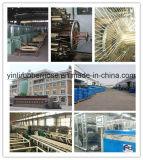 Qualitäts-glatte Oberflächen-umsponnener hydraulischer Gummischlauch R2/2sn