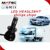 고품질은 팬을 방수 처리한다 68 세륨 RoHS 증명서 H4 H7 H11 9005를 9007의 LED 헤드라이트 램프 도매한다