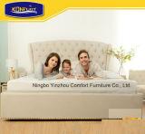La subida ajustable eléctrica del masaje de la base de los muebles de los muebles caseros del dormitorio y descansa base con el doble de la talla de la reina del colchón
