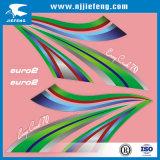 Etiqueta cortada PVC barata do vinil da decoração 3D da motocicleta da manufatura do OEM