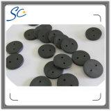 Etiqueta pasiva del lavadero del paño de la frecuencia ultraelevada de la etiqueta RFID del botón de RFID