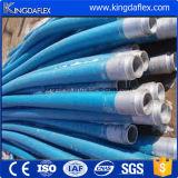 Tubo flessibile di gomma ad alta pressione di rinforzo 40bar dell'intonaco intrecciato tessuto
