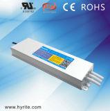 Transformador magro impermeável do interruptor do diodo emissor de luz 300W do IP 67 da aprovaçã0 do Bis para o Signage do diodo emissor de luz