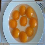Pêssegos amarelos enlatados das metades dos pêssegos xarope doce Seasoned novo
