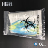 文書の袋が付いているHt0722 3壁のBiohazardの標本袋
