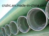 Tuyau en plastique de tissu-renforcé de PVC d'espace libre de profil de FRP Pultruded Zlrc