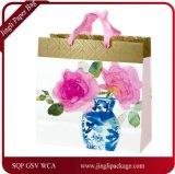 Grand sac carré de cadeau, sacs de cadeau, sacs en papier, sacs en papier de Papier d'emballage