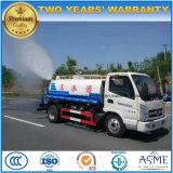 5 de 4X2 6 das rodas da água do transporte toneladas de caminhão de petroleiro 5000 litro caminhão do sistema de extinção de incêndios