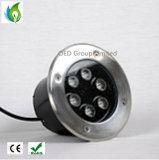 1W 3W 5W 9W 12W IP65 impermeabilizzano l'indicatore luminoso sotterraneo del LED