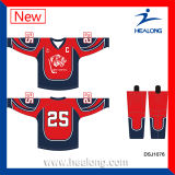 Healong passte voll sublimierte Eis-HockeyJerseys an