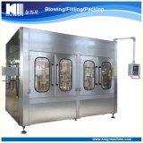 Fábrica por completo 3 automáticos en 1 máquina de rellenar plástica del agua de botella del animal doméstico de la pequeña escala