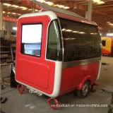 Chariot personnalisé mobile de vente de crême glacée