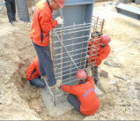 Stahlkonstruktion-Aufbau-Möbel-Lager