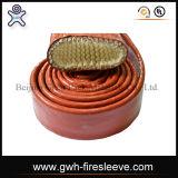 Luva do fogo que aquece a mangueira hidráulica elétrica
