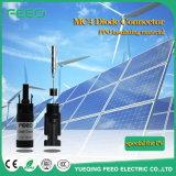 connettori solari di 4mm Mc4 PV con l'accoppiatore del diodo