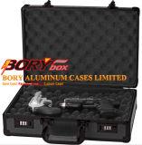 A câmera dura de travamento moldada nova de alumínio preta da caixa do fechamento do revólver da pistola do injetor carreg a caixa