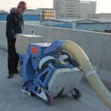 Mobile konkrete und Stahlplatten-Oberflächen-Reinigungs-Granaliengebläse-Maschine