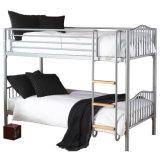 金属の二段ベッド