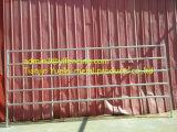 강철 가축 가축 우리 위원회 금속 가축은 담 문을 수비에 세운다