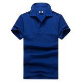 200GSM CVC 남자 (OEM)를 위한 60/40 불쾌 형식 폴로 셔츠