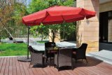 Напольный Wicker секционный комплект мебели сада софы
