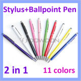 Bunte 2 in 1 Ball Pen Stylus Touch Pen für iPad/iPhone Tablet PC