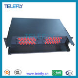 6ports aan 384ports Fiber Optic Patch Panel, 19inch Rackmount Chassis