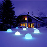Bola al aire libre del jardín impermeable recargable LED (A006)
