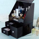 Carrinhos de indicador cosméticos com gaveta