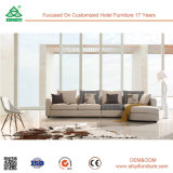 Sofá de madeira antigo clássico moderno da mobília dos projetos ajustados do sofá da sala de visitas