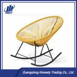 PE-RC03 혼합 색깔 로비 계란 모양 등나무 흔들 의자