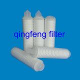 Cartucho de filtro de la fibra de vidrio para la filtración del gas y de los líquidos