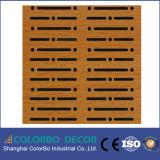 Het houten MDF van het Akoestische Comité Binnenlandse Materiaal van de Decoratie van de Muur!