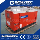 50Hz 1500rpm 3phase 30kw 37.5kVA無声Kubotaのディーゼル発電機