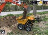 Миниый Dumper с курганом силы привода с цепной передачей 4WD