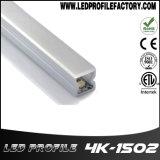 perfil de aluminio de la protuberancia de la esquina de 4K-1502 LED para la tira del LED