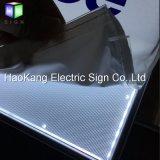 Van het LEIDENE van de Stof van het aluminium de Tekens van het Menu Frame van het Bureau voor Affiche tonen Licht Vakje