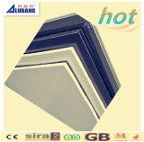 Panneau composé en plastique en aluminium de qualité d'approvisionnement de prix usine