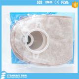 Zweiteiliger Colostomy-Beutel mit integriertem Flausch-Schliessen