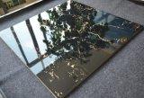 Glasig-glänzende Marmorblick-Porzellan-Polierfliese Fy6096q