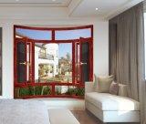 Окно комбинации сказовой конструкции алюминиевое с экраном мухы (JFS-108002)