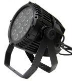 Rasha屋外IP65はDMX軽い6in1 Rgbaw+UV 12X18W LEDの同価の段階ライトを防水する