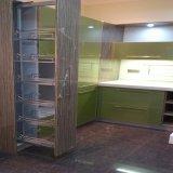 Module de cuisine moderne de laque de vente en gros de meubles de cuisine