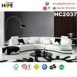 Sofá de couro secional do escritório moderno Best-Selling (HC2081)