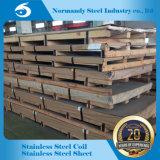 Feuille d'acier inoxydable d'ASTM 2b 304 pour le revêtement de levage