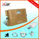 Vente chaude ! Le répéteur mobile à deux bandes intelligent de signal de téléphone cellulaire de servocommande du signal 900/210MHz