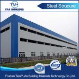 Edificio prefabricado del taller del marco de la estructura de acero del diseño profesional para la venta