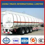 Cimc 3 pétrolier de l'essieu 40m3/d'essence camion-citerne remorque semi