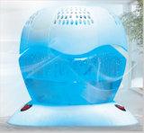 Épurateur de arrosage d'air de couverture bleu-clair d'actinie