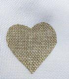 Favori di partito rustici del sacco del sacchetto del sacchetto della iuta della caramella di cerimonia nuziale del cuore